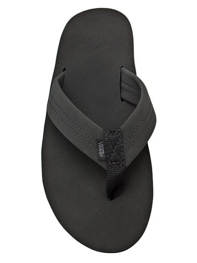 ccbe6e99f78a Vans Santa Rosa Flip Flop in Black for Men - Lyst