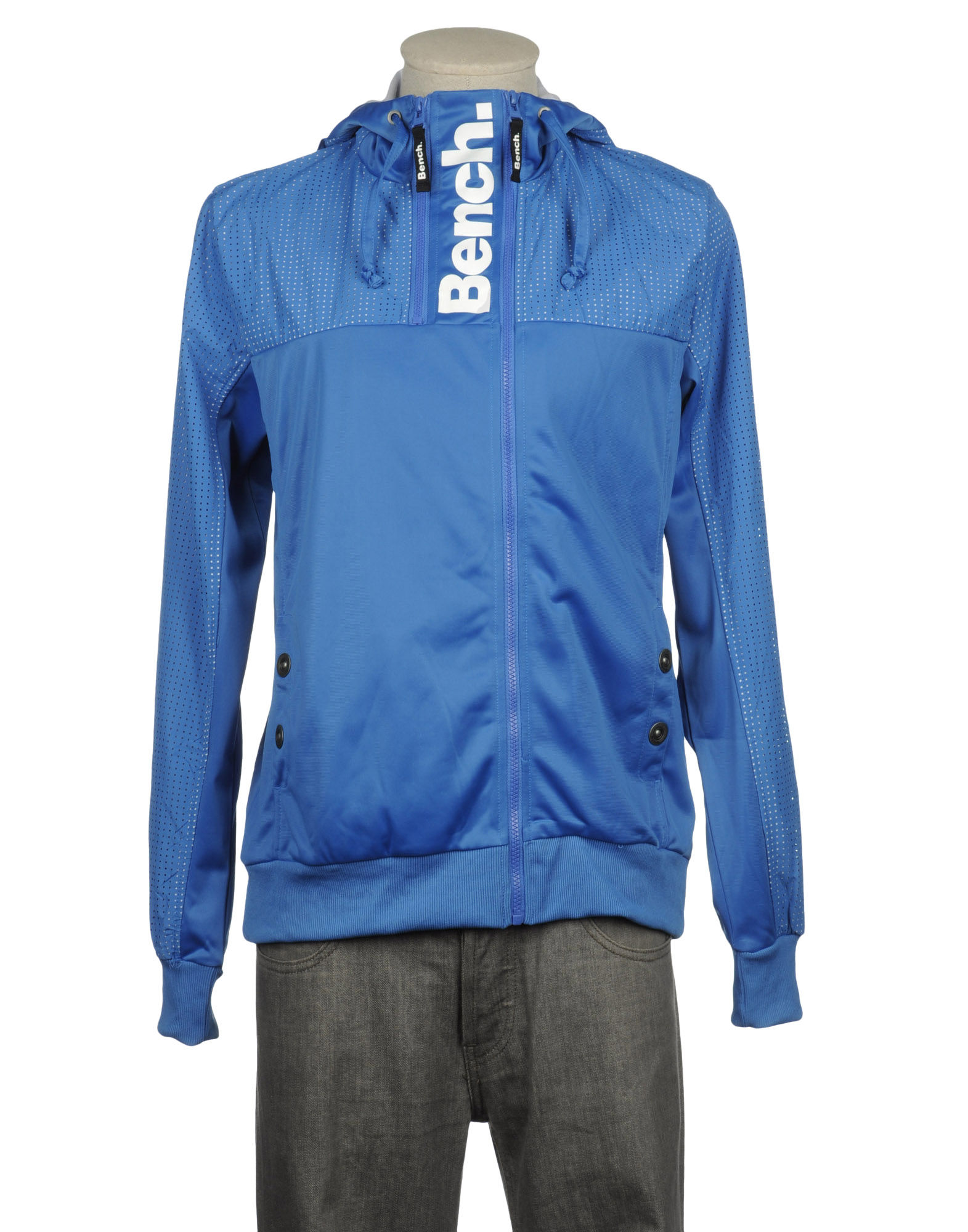 Bench Hooded Sweatshirt In Blue For Men Azure Lyst