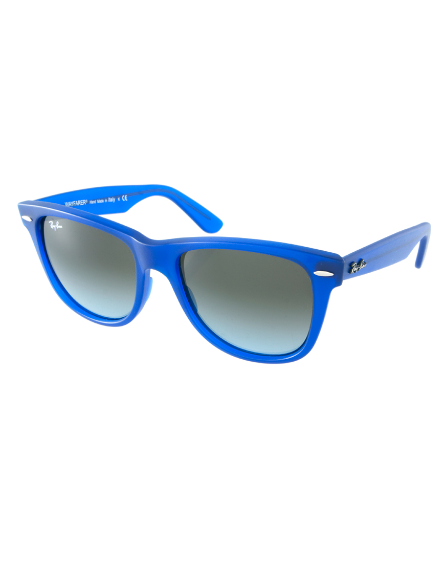 Ray Ban Blue Wayfarer Sunglasses For Men