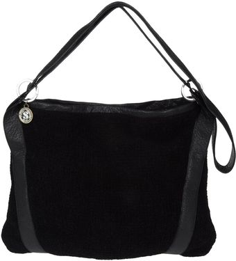 Stefanel Large Fabric Bag - Lyst