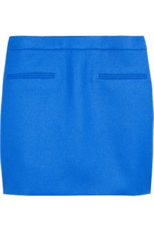 Stella McCartney Tive Wool Twill Mini Skirt - Lyst