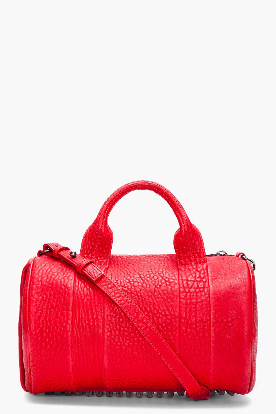 alexander wang rocco bag in red lyst. Black Bedroom Furniture Sets. Home Design Ideas