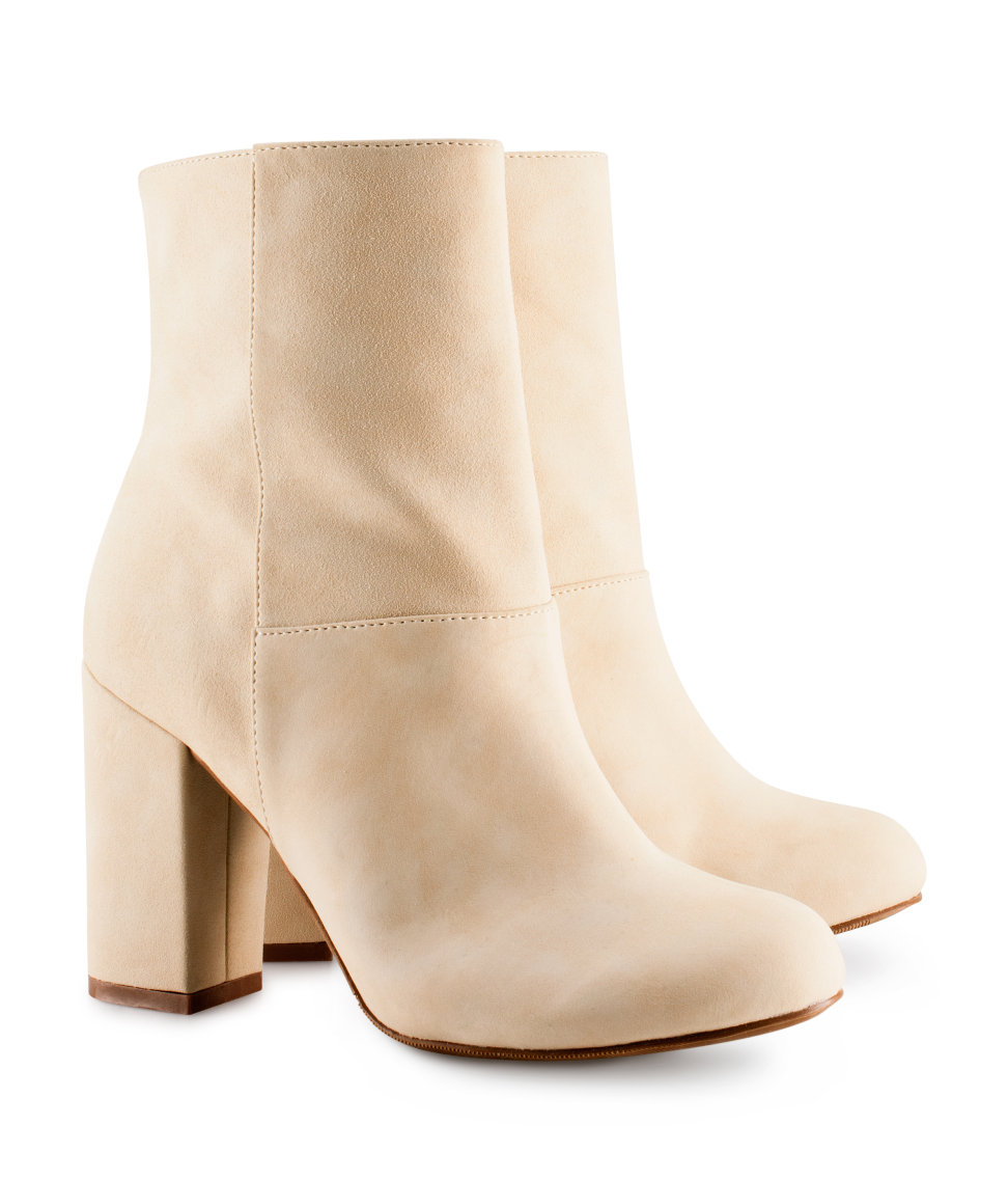 H&m Ankle Boots in Beige
