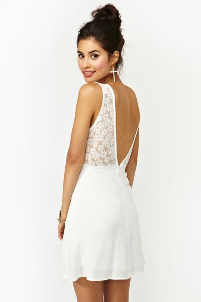 Nasty Gal Daisy Dream Dress In White Lyst