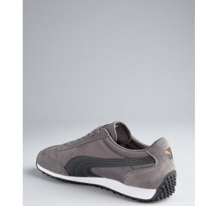 37b499d904e6fe Puma Steel Grey Nylon Whirlwind Classic Striped Sneakers in Gray for ...