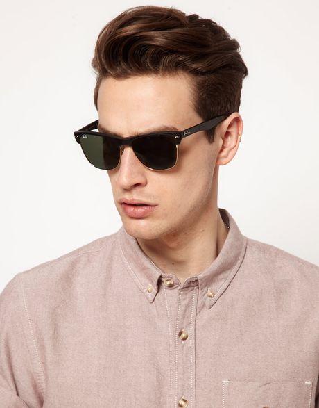 Clubmaster Sunglasses | Ray-Ban® USA