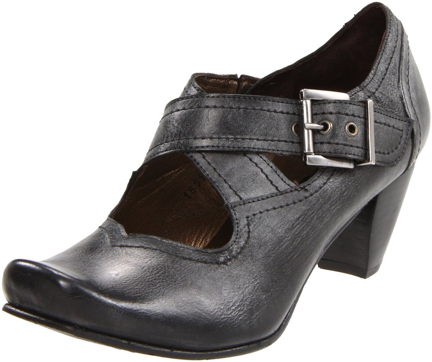 Fidji Fidji Womens E926 Mary Jane Pump In Black