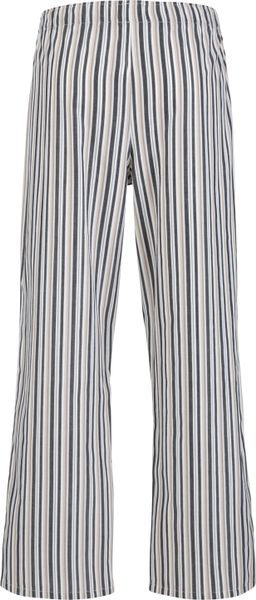 John Lewis John Lewis Stripe Cotton Lounge Pants Black
