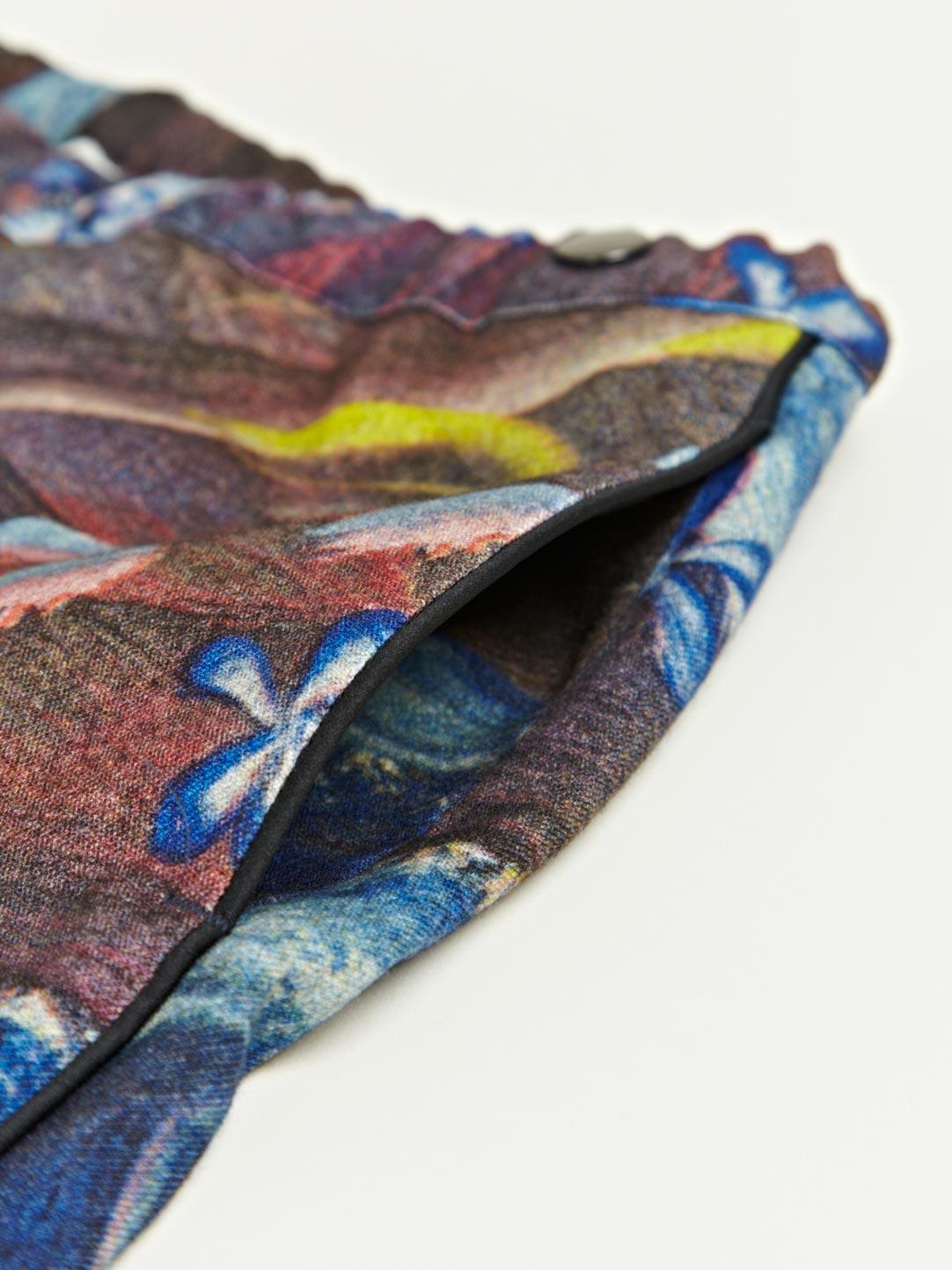 Dries Van Noten Dries Van Noten Mens Passy Print Trousers in Blue for Men