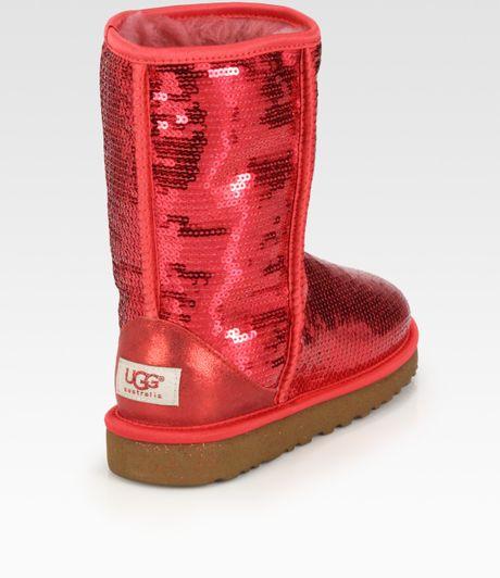 ugg classic short ruby