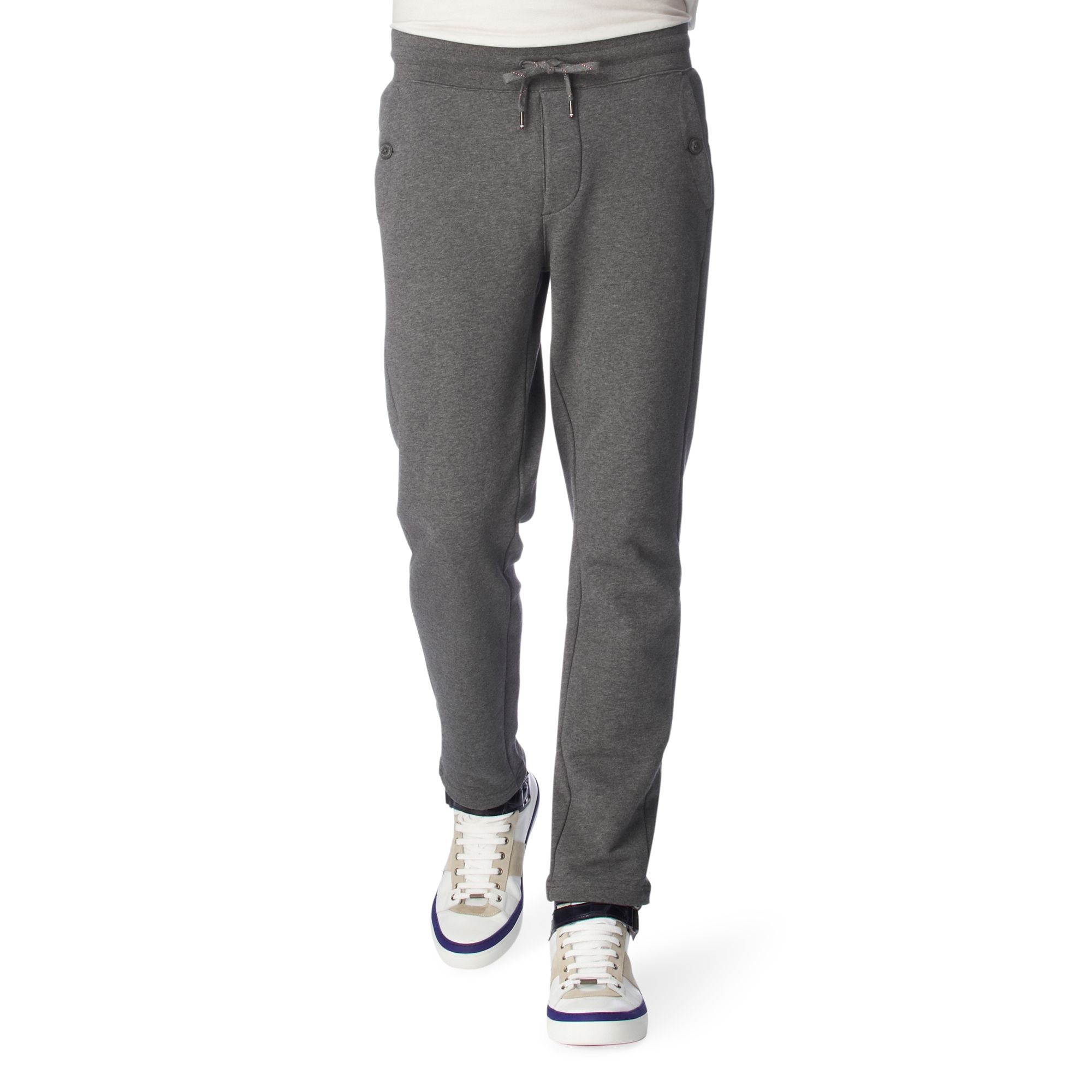 88f288f2f022 Moncler Jogging Bottoms in Gray for Men - Lyst