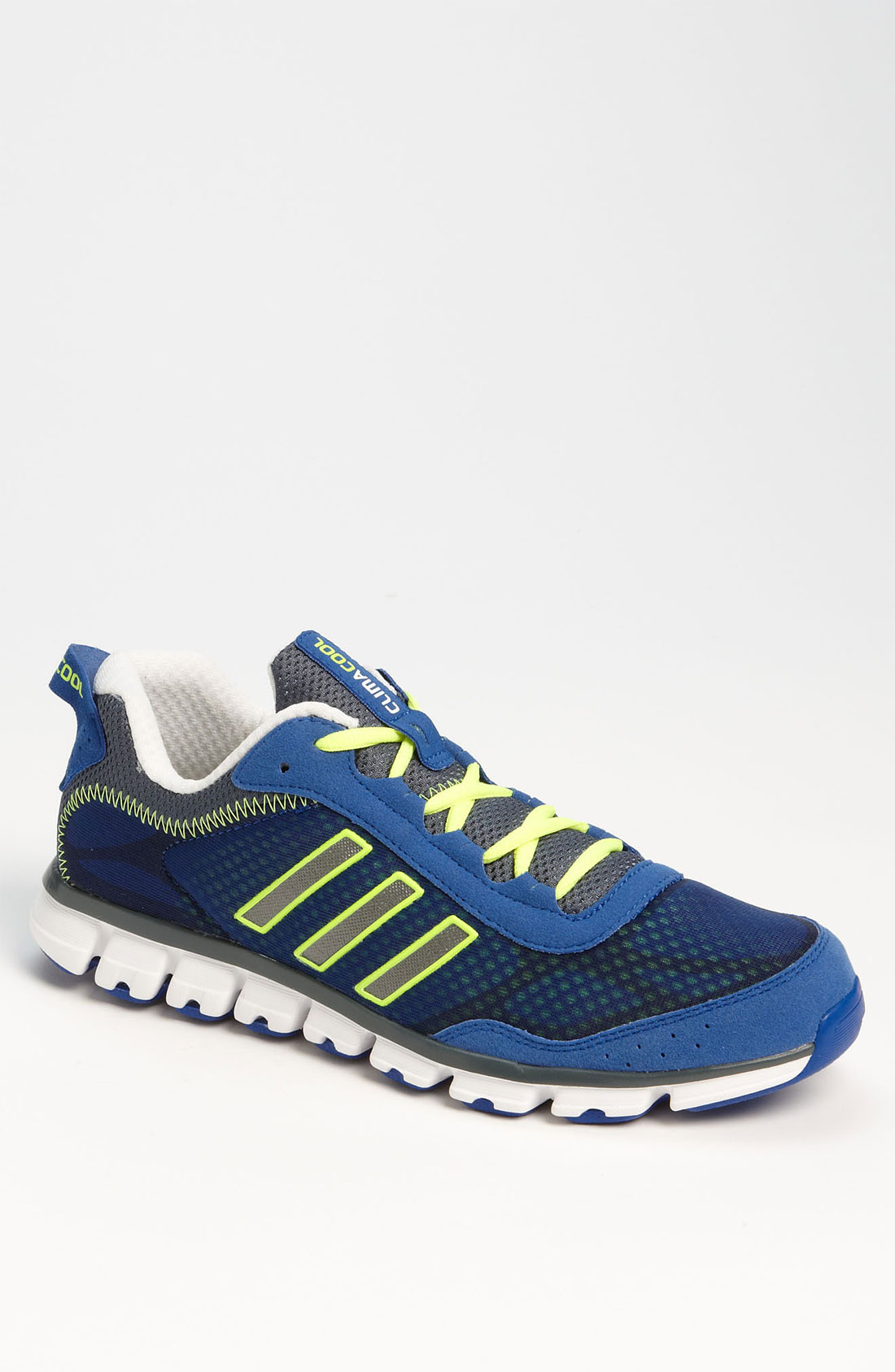 adidas climacool aerate running shoe in blue for men lyst. Black Bedroom Furniture Sets. Home Design Ideas