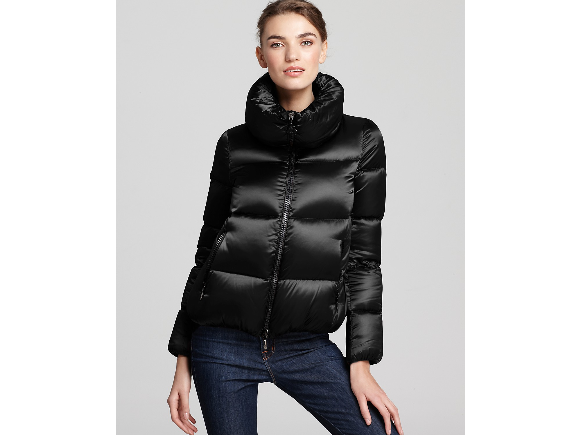 moncler short down jacket