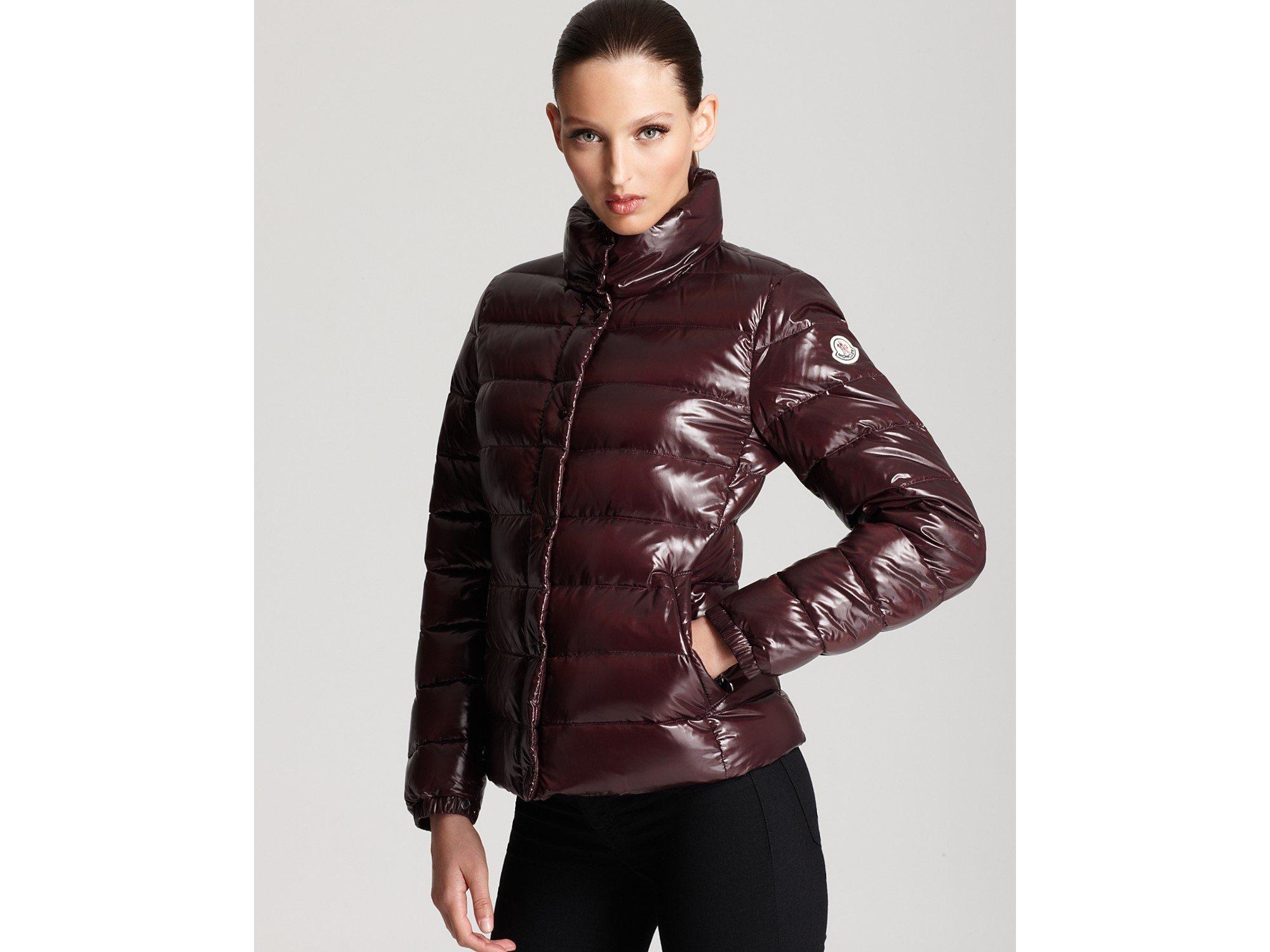cc22ba39c Moncler Red Clairy Lacquer Short Down Coat