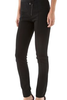 Alexander Wang Double Fly Skinny Pants - Lyst