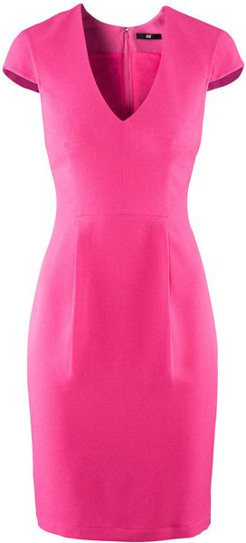 H&m Dress in Pink (cerise)