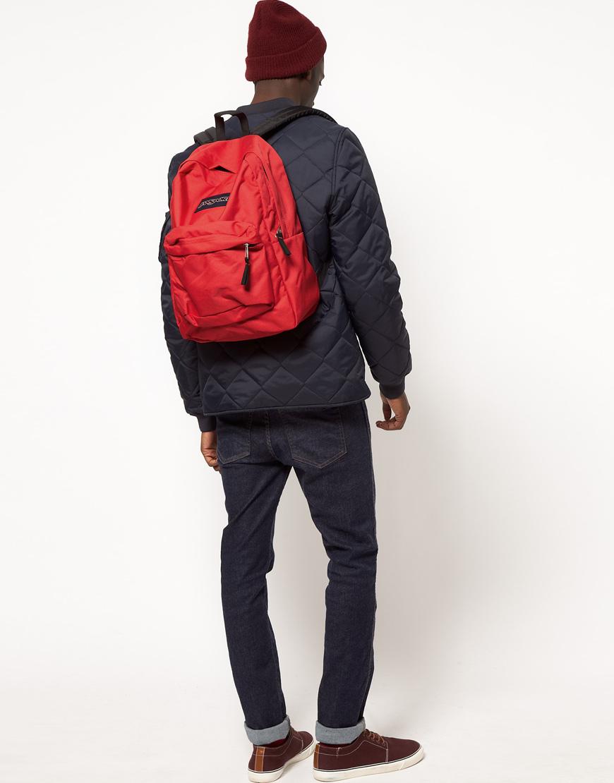 Jansport Superbreak Backpack in Red for Men   Lyst