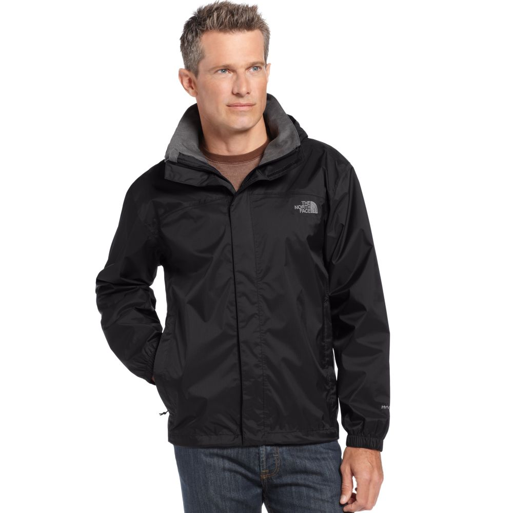 f19c193f8 The North Face Black Resolve Waterproof Rain Jacket for men