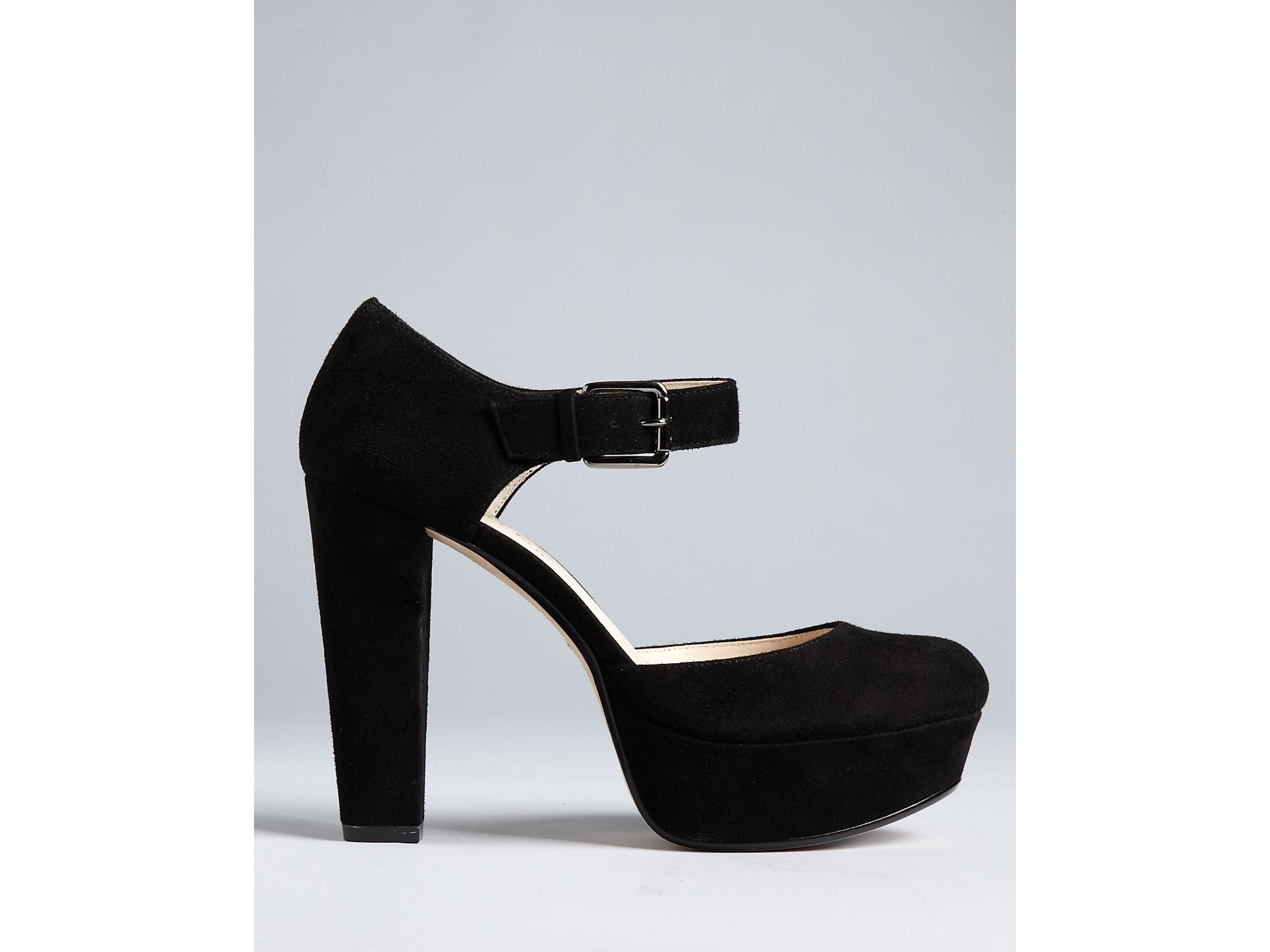 michael kors kors pumps kempton high heel in black lyst. Black Bedroom Furniture Sets. Home Design Ideas
