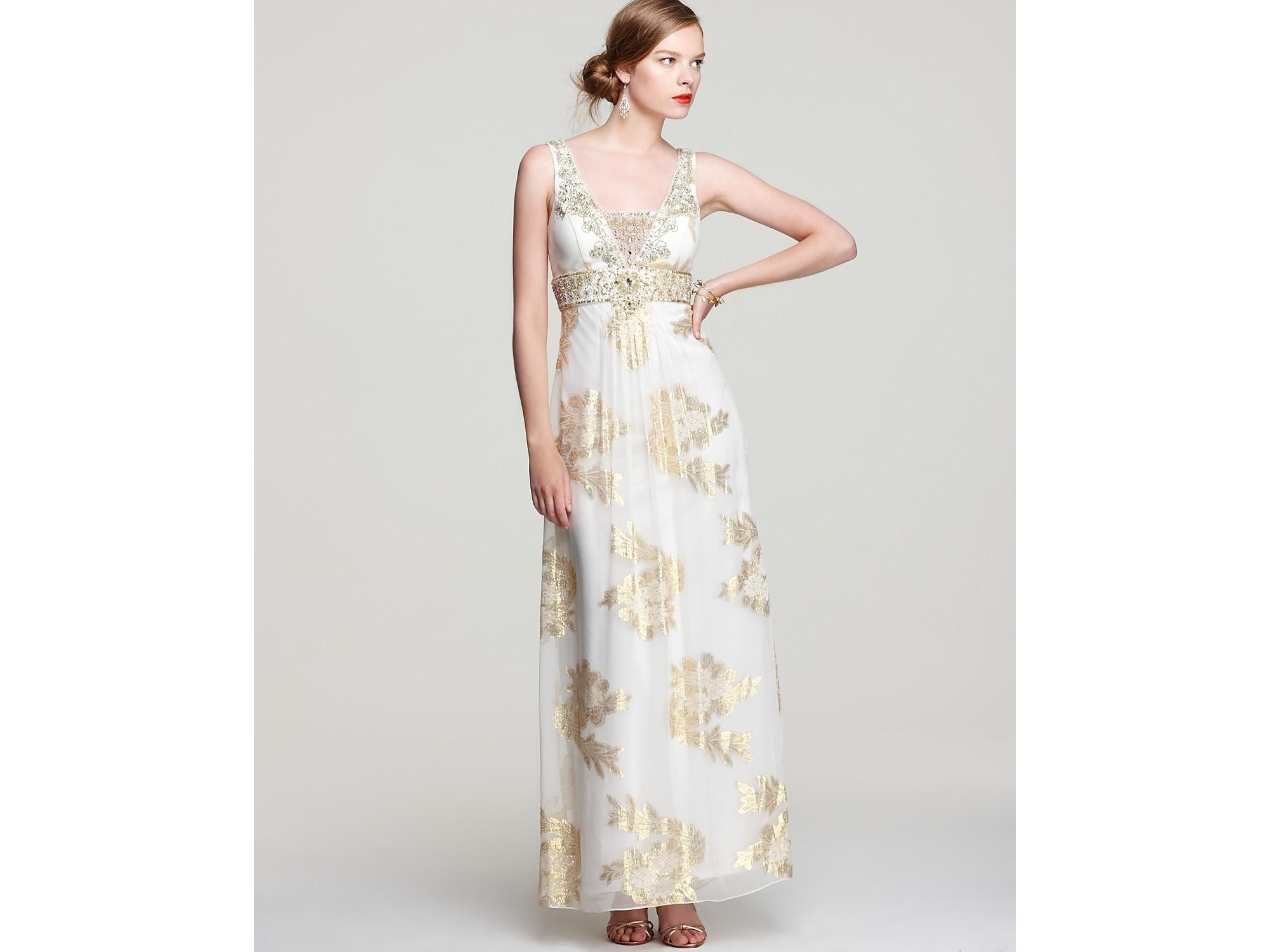 Sue Wong Gold Evening Dresses – fashion dresses