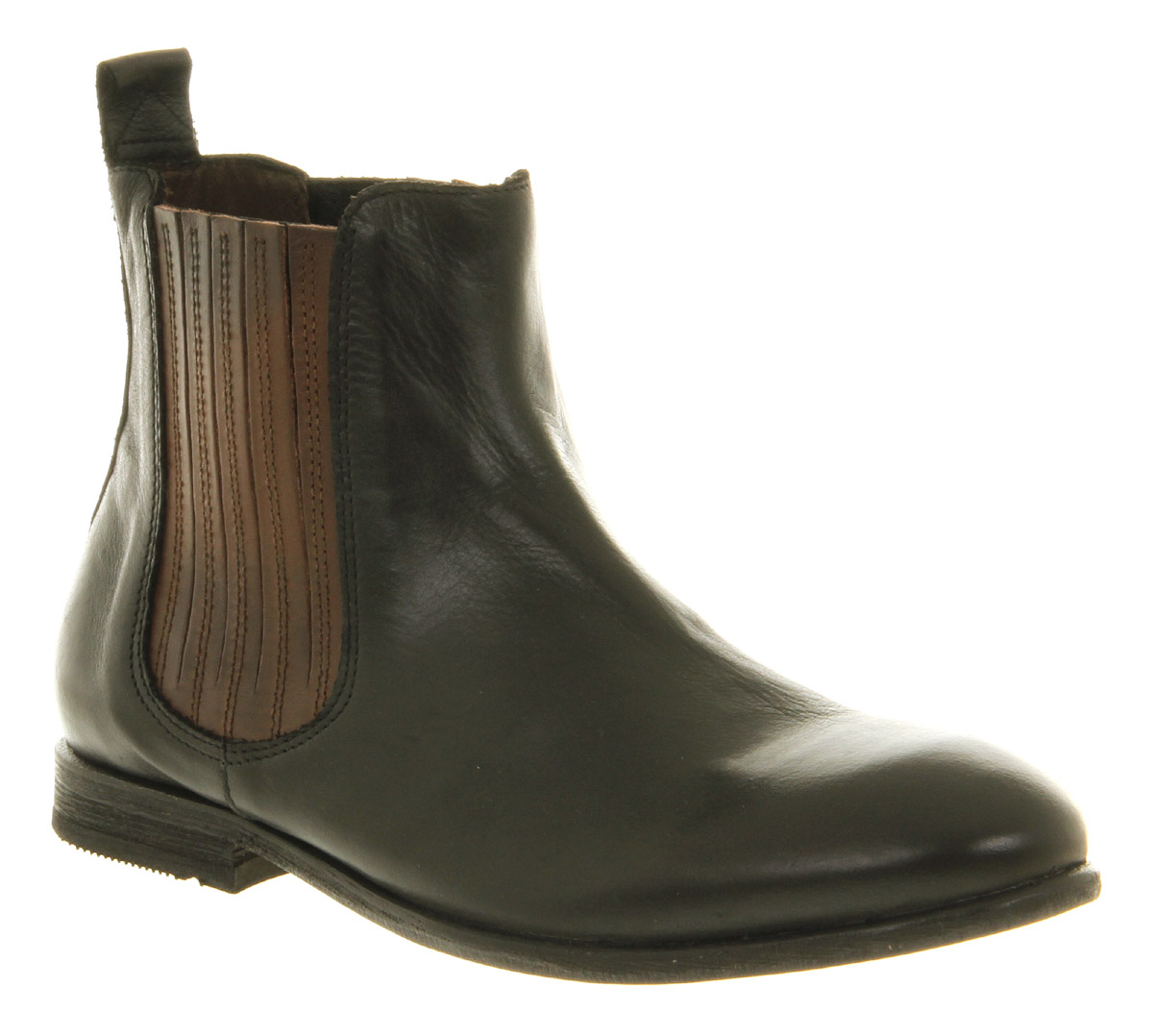 h by hudson chelsea boot in brown black lyst. Black Bedroom Furniture Sets. Home Design Ideas