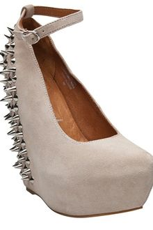 Jeffrey Campbell Aubrey Spike Platform Wedge - Lyst
