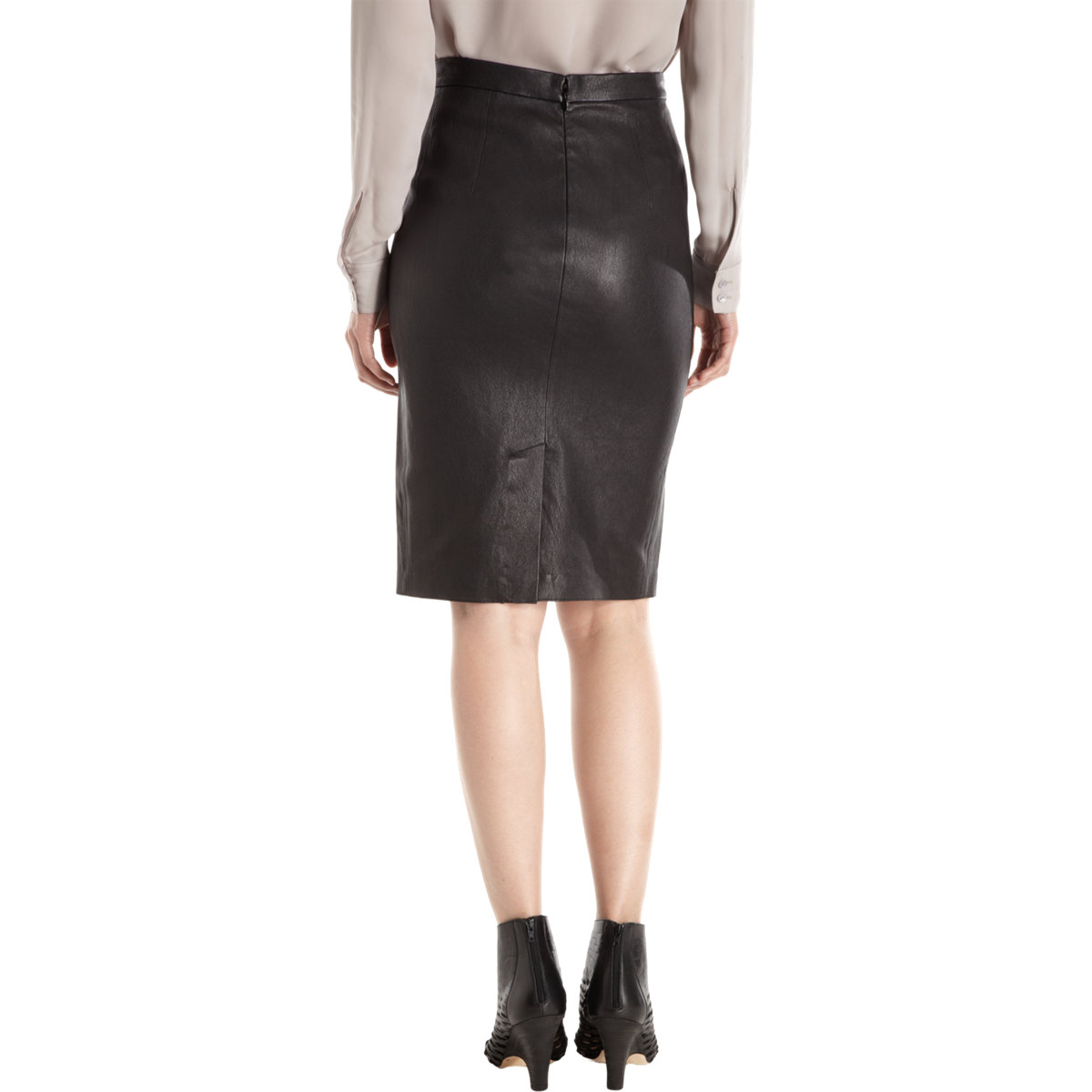 Find Black leather pencil skirts at ShopStyle. Shop the latest collection of Black leather pencil skirts from the most popular stores - all in one.
