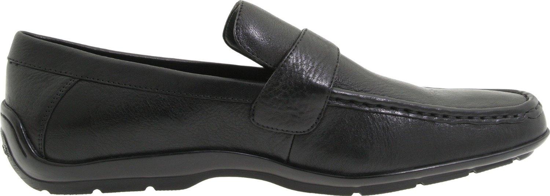 calvin klein heron strap slip on loafers in black for men. Black Bedroom Furniture Sets. Home Design Ideas