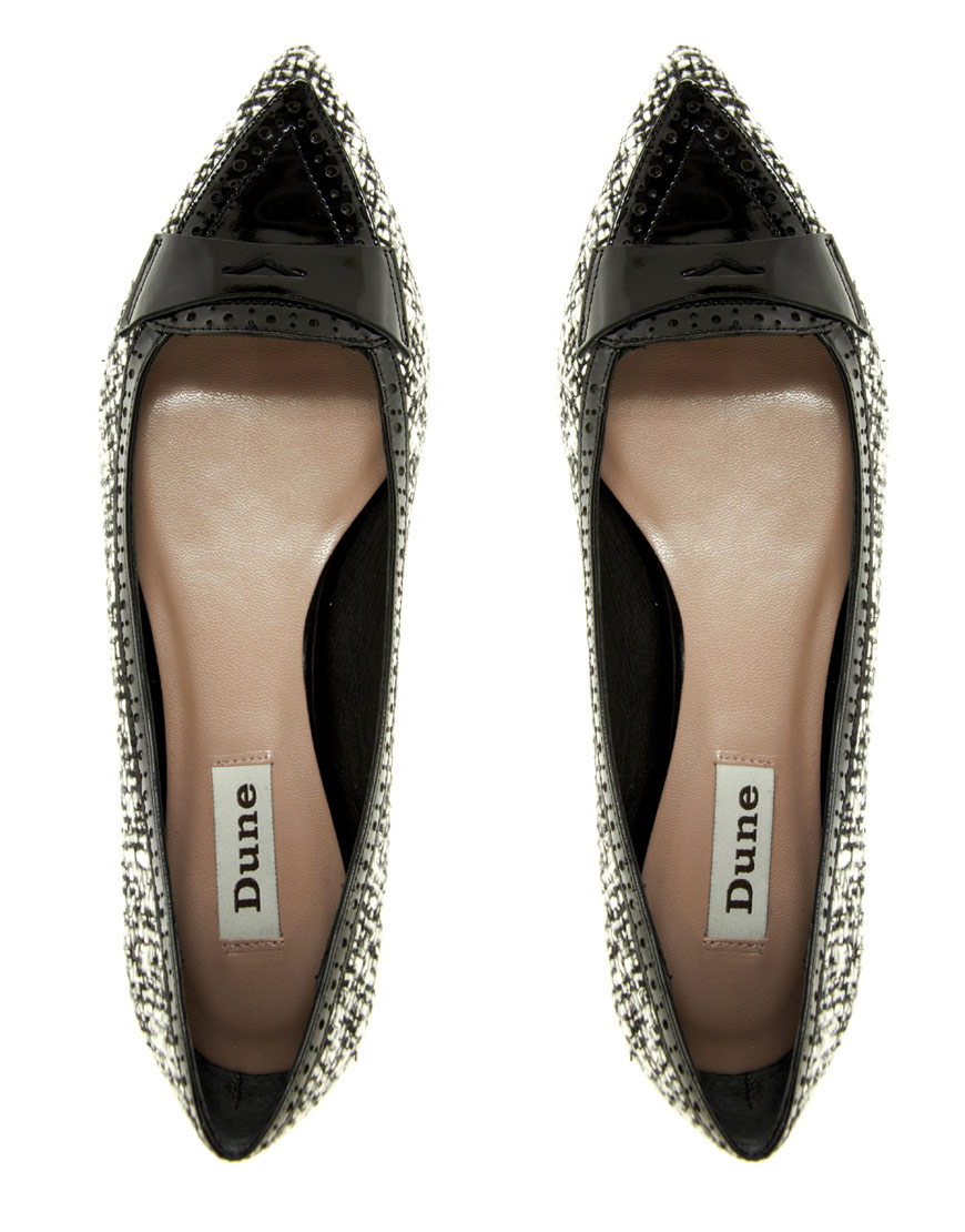 Pointed Ballet Flats - Lyst