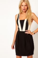 Oasis Colour Block Dress