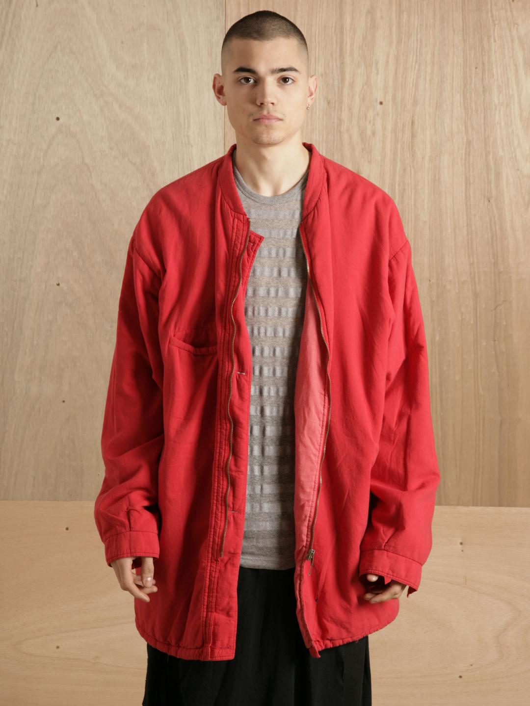 Raf simons Raf Simons Mens Padded Oversize Jacket in Red for Men ...
