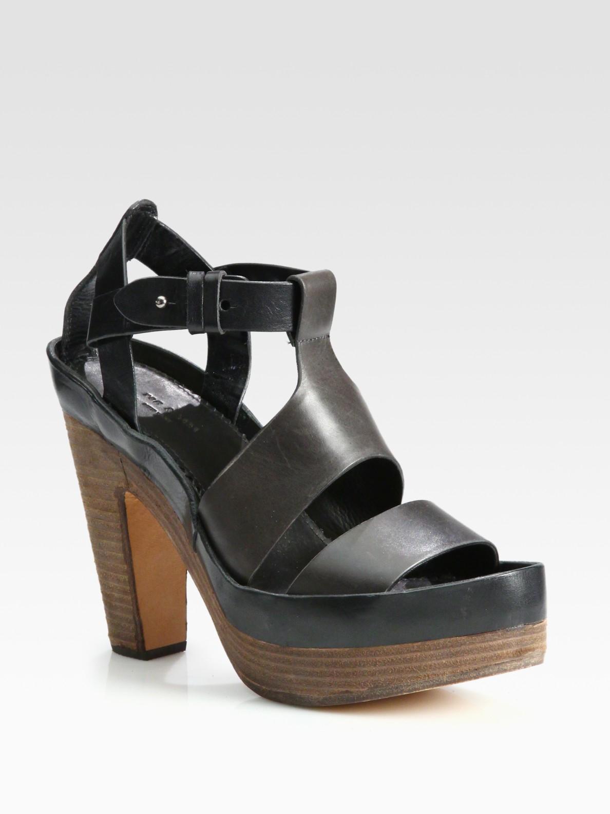 pick a best sale online sale 2015 Rag & Bone Bicolor Platform Sandals footlocker sale online outlet browse fab5UVR3t