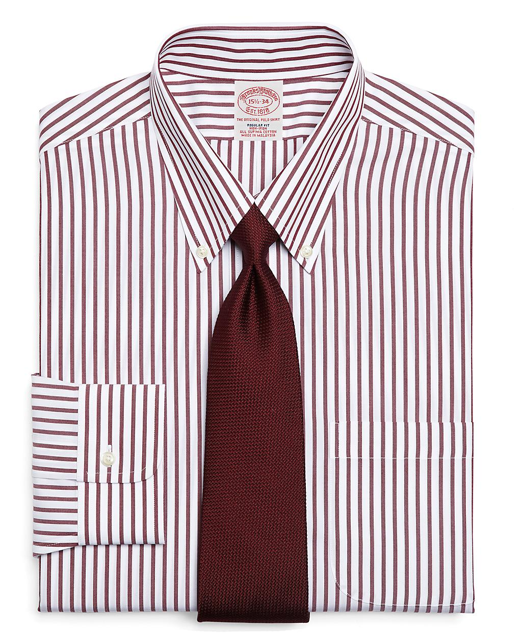 Lyst Brooks Brothers Supima Cotton Noniron Regular Fit