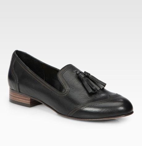 Dolce Vita Bronx Patent Leather Oxford Flats in Black
