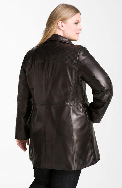 Ellen tracy leather jacket