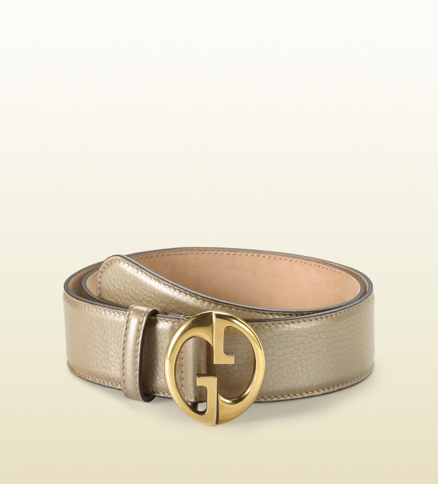 8cb621625 ... Gucci Blet: Gucci Belt With Double G Buckle In Natural