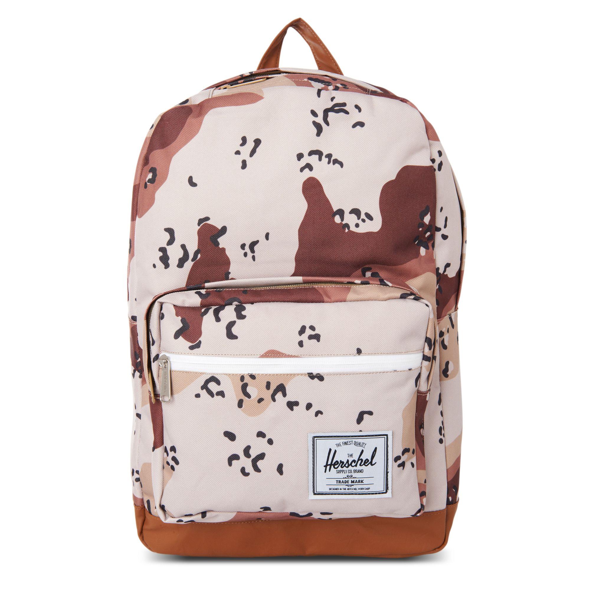 herschel supply co pop quiz backpack in beige for men desert lyst. Black Bedroom Furniture Sets. Home Design Ideas
