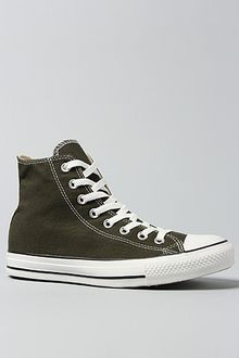 Converse The Chuck Taylor All Star Hi Sneaker in Kombu Green - Lyst