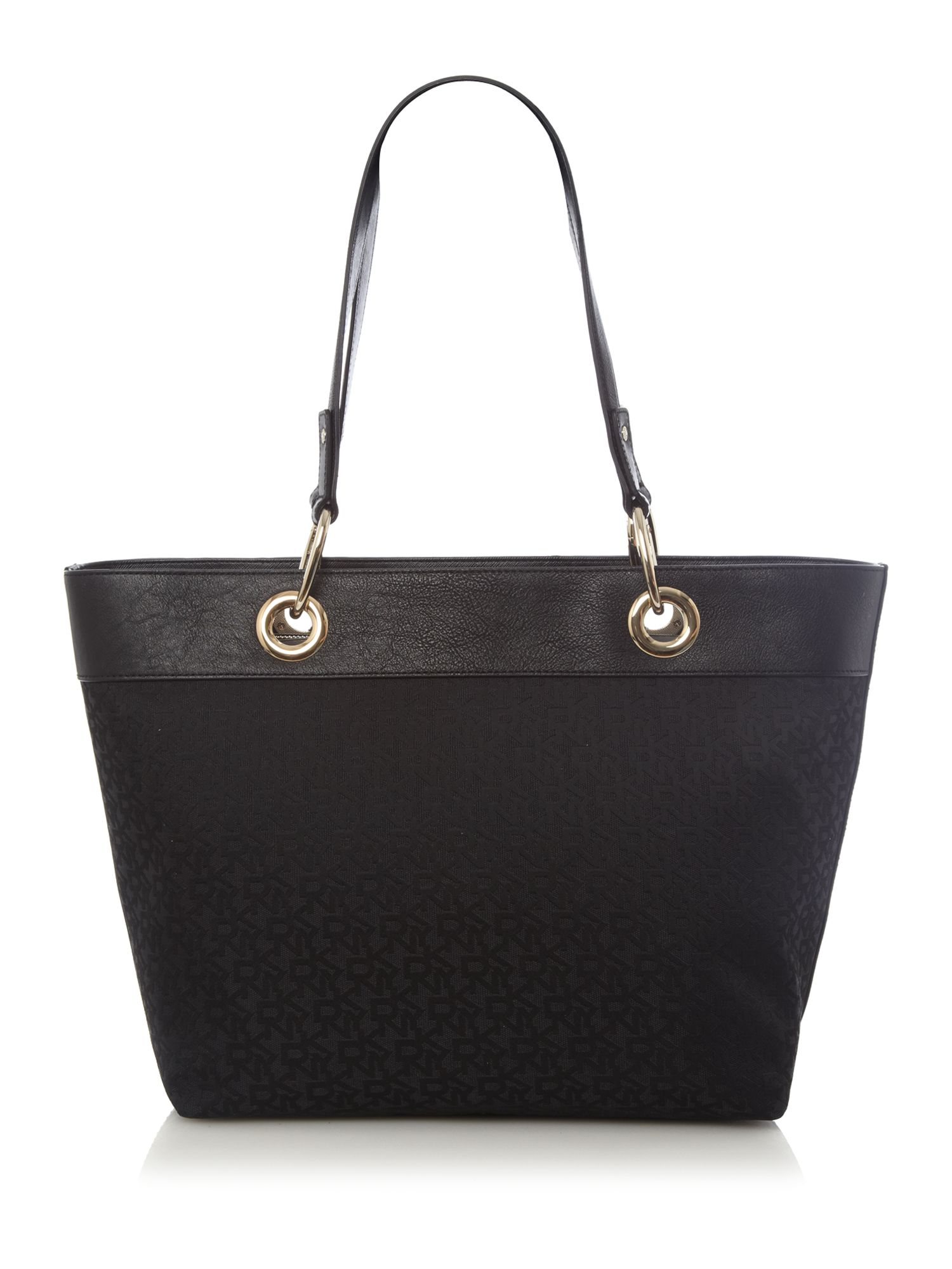 dkny scarf bag tote in black lyst