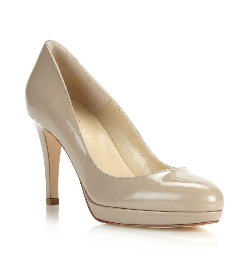 Hobbs Juliet Patent Leather Platform Stiletto Court Shoes