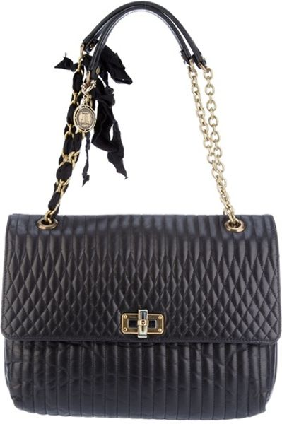 Lanvin Quilted Bag in Black