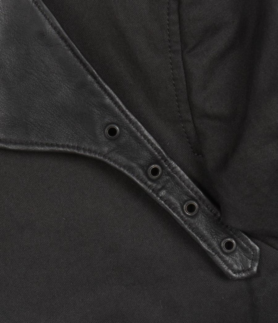 AllSaints Pushkin Mac in Grey (Grey) for Men