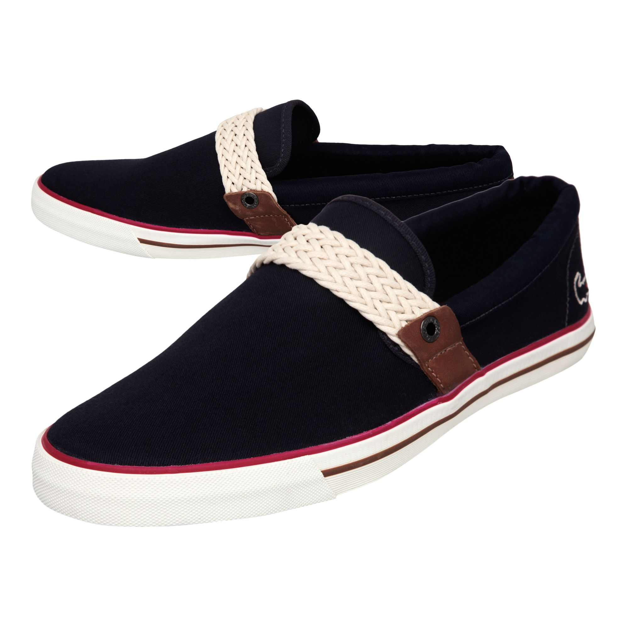 lacoste carel ap casual shoes in blue for lyst