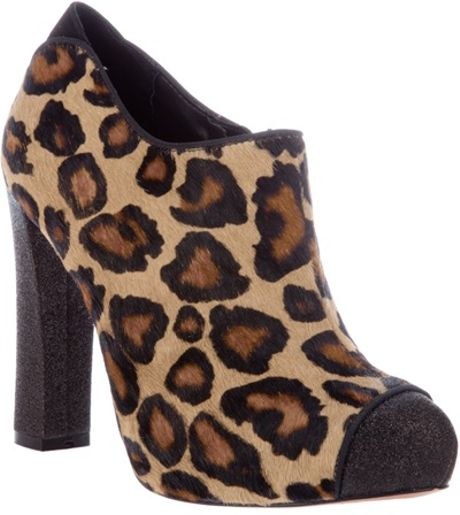 Sam Edelman Felix Shoe Boot in Animal (leopard)