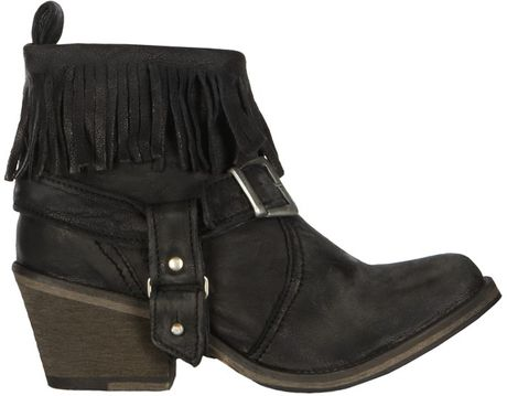 Allsaints Bonny Cuban Boot in Black
