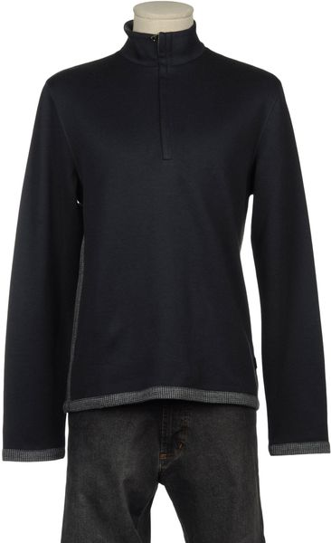 Boss By Hugo Boss Long Sleeve Tshirt in Blue for Men - Lyst