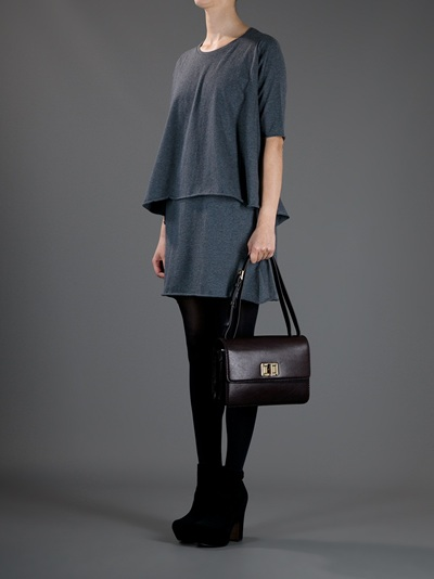 Chlo�� Louise Bag in Black | Lyst