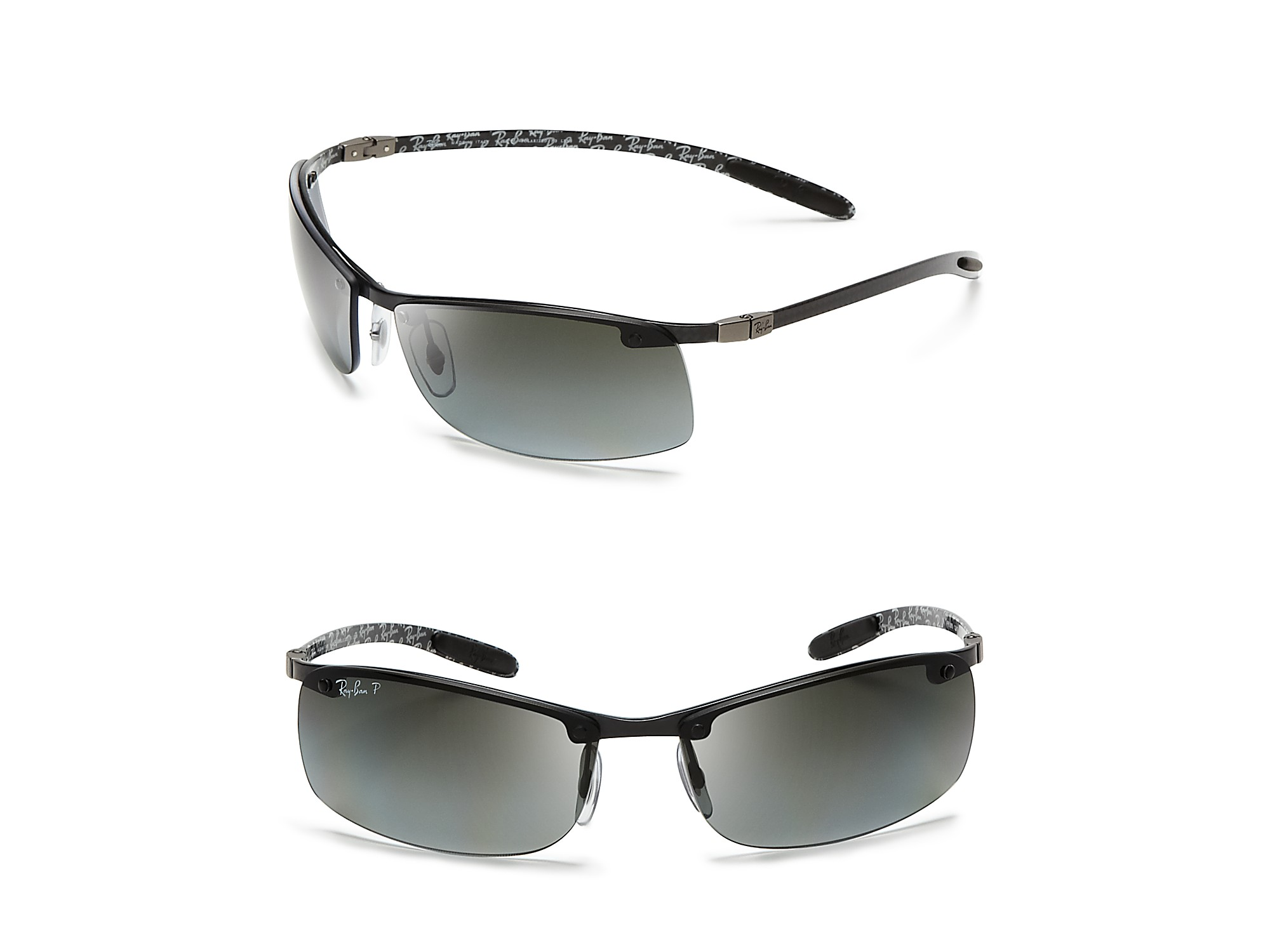 Lyst Ray Ban Carbon Tech Sport Sunglasses In Black For Men 5320a0d6e463