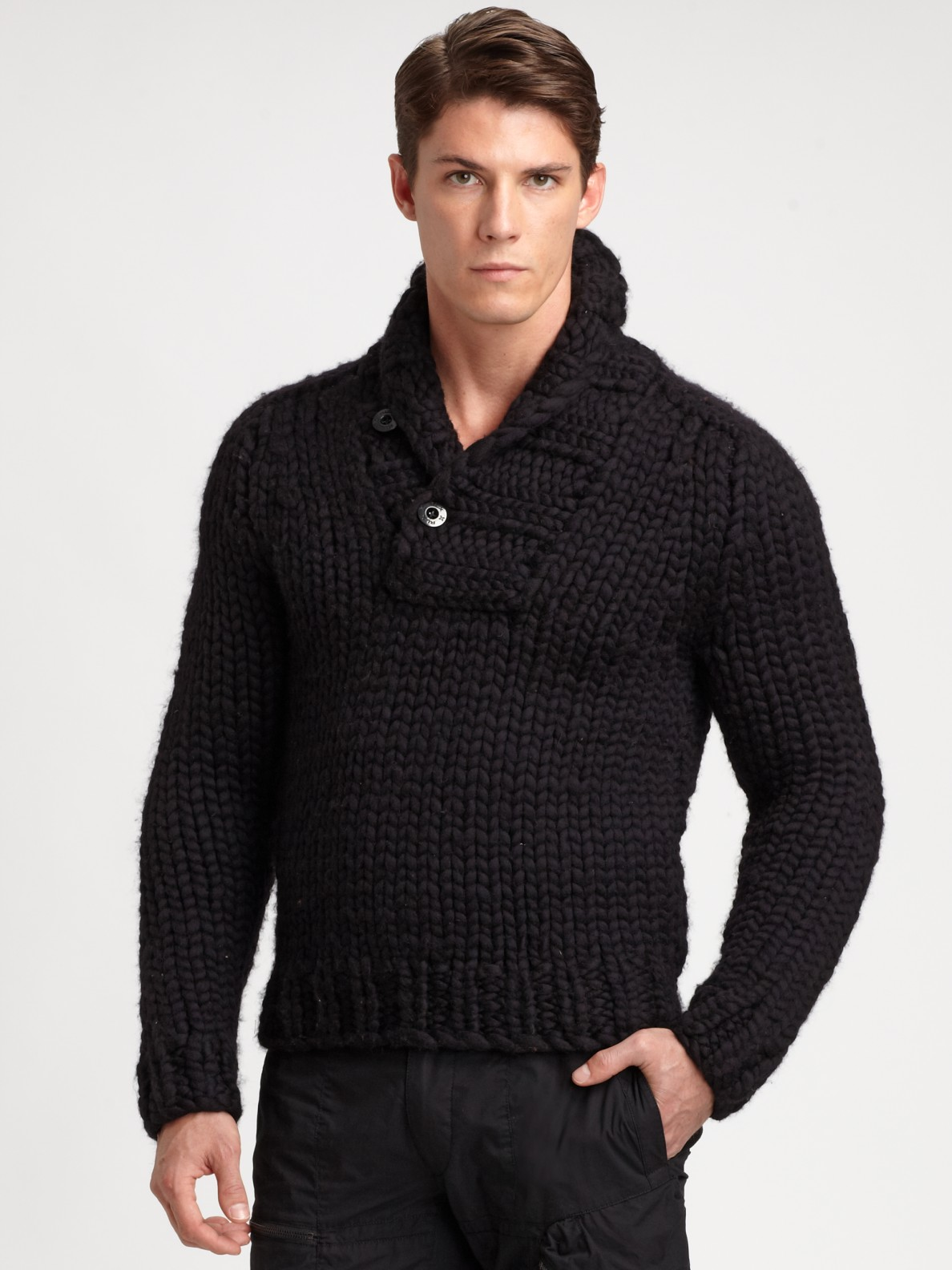 Ralph Lauren Shawl Collar Sweater