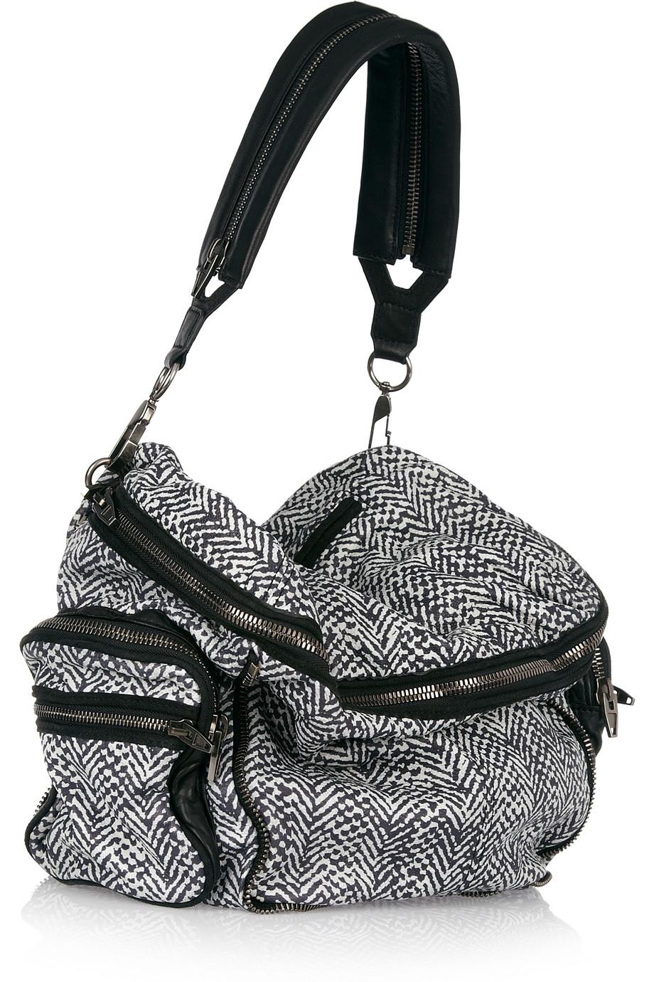 Lyst Alexander Wang Jane Shoulder Bag In Black